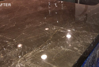 Marble Countertop Etch Removal