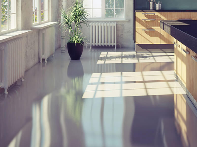 polished-concrete-floor2, marble glow, tile, granite polishing, surface cleaning, grout cleaning, limestone polishing, concrete polish, new york, albany marble company, charleston tile brick cleaning