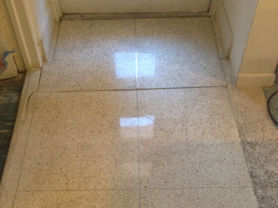After pic: natural stone flooring care